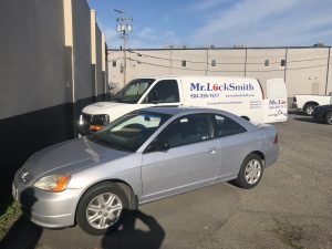 2003 Honda Civic Lost Keys Mr. Locksmith Automotive Langley