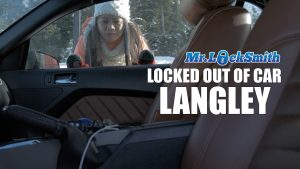 Lock out of Car in Langley BC